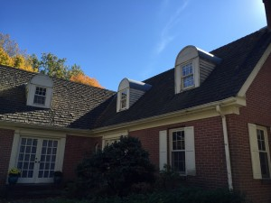 Cedar roof shingles by A Parker Contracting in Delaware